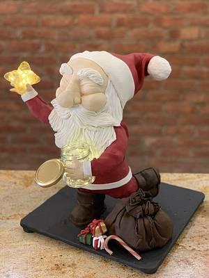 Santa! - Cake by CakeMeOver