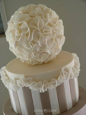 Ruffles Galore - Cake by Carol