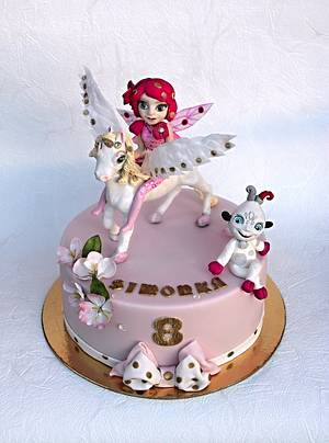 Mia and me - Cake by Zuzana Bezakova