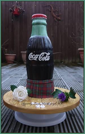 Coca Cola  - Cake by Heavenly Treats by Lulu
