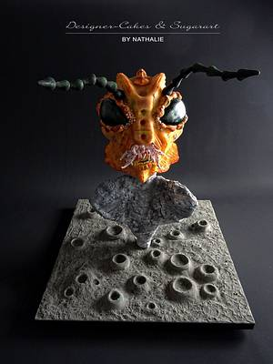 Aliens and X Files Challenge - Cake by Designer-Cakes & Sugarart by Nathalie