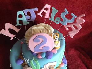 Bubble guppys cakes - Cake by Samantha Corey