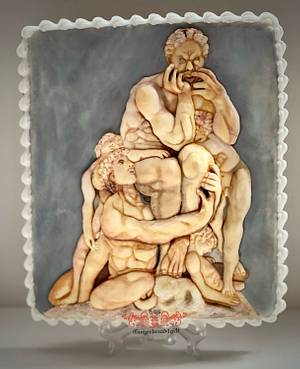 Ugolino and his sons - Cake by Maria