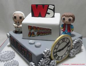 Back to the future wstaff party - Cake by Sc Sugar Art L'ingegnere nello Zucchero