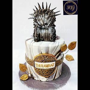 Game of thrones cake - Cake by Radha's Bespoke Bakes