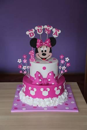 Minnie Mouse cake - Cake by Zaklina