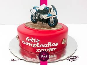 BMW moto cake - Cake by Nomverguán