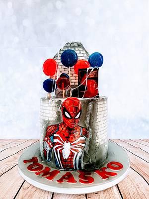 Spiderman - Cake by alenascakes