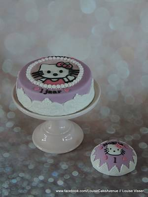 Hello kitty  - Cake by Louise