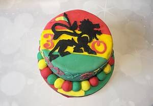 Reggae - Cake by Tania's Delights