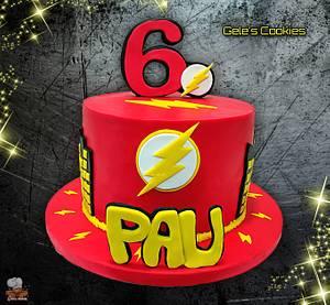 Flash ⚡ - Cake by Gele's Cookies