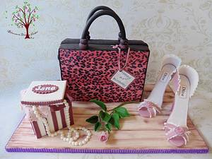 Still Pink at 65! - Cake by Blossom Dream Cakes - Angela Morris