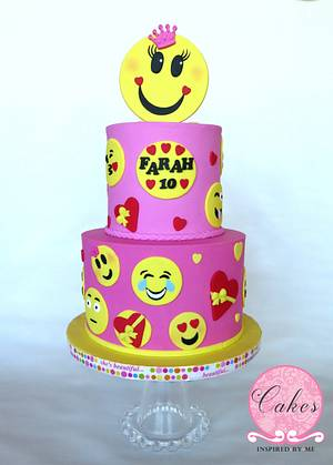 Emoji cake - Cake by Cakes Inspired by me