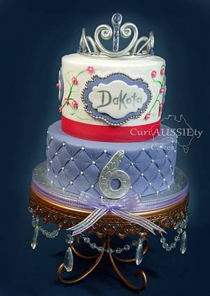 Princess Sofia the first theme cake - Cake by CuriAUSSIEty  Cakes