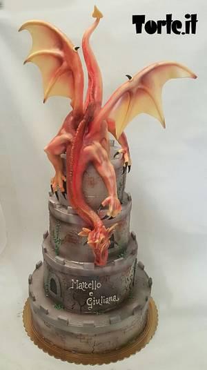 Dragonheart wedding cake - Cake by Marco Pisani