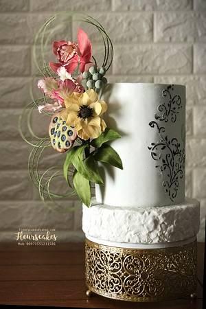 Fleur - Cake by Bennett Flor Perez