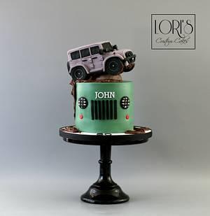 Jeeplover - Cake by Lori Mahoney (Lori's Custom Cakes)