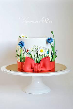 wildflowers cake  - Cake by Alina Vaganova