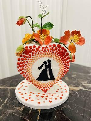 Anniversary cake  - Cake by Cake house sensation