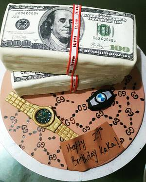 Sab ka sapna money money - Cake by Juhi goyal