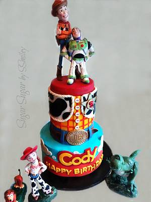 Toy Story Icing Smiles Cake - Cake by Sandra Smiley