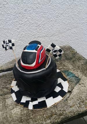 Wyścigowy tort  - Cake by Ewa