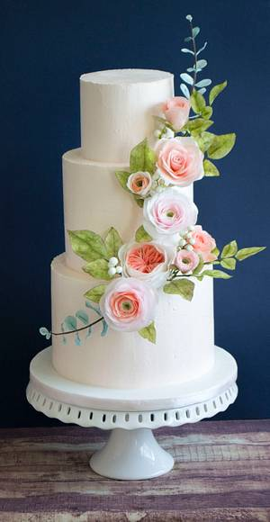 Wedding cake - Cake by Vanilla & Me