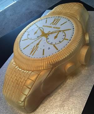 Michael Kors watch birthday cake - Cake by Diane Wilks