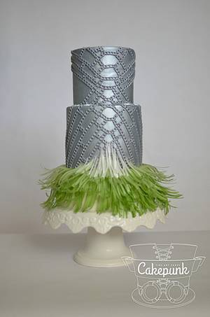 Atelier Vercace Inspired Cake Couture Cakers - Cake by Heather McGrath