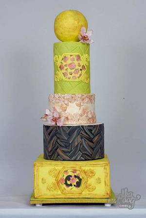 It's all about texture! ! - Cake by The truffle house