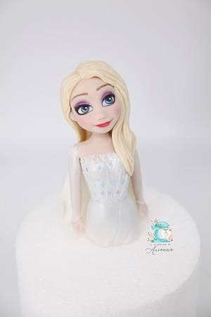 Frozen 2  - Cake by Arianna