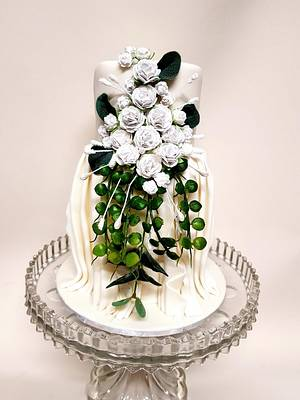 Princess Mary CPC Kissing Frogs Collaboration - Cake by Sue's Sweet Delights