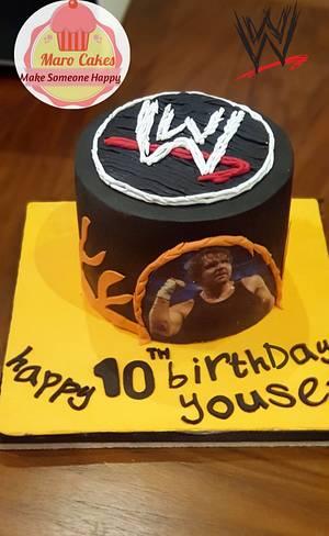 WWE cake - Cake by Maro Cakes