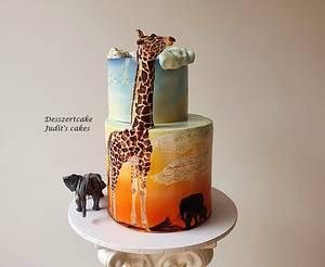 Savannah cake - Cake by Judit