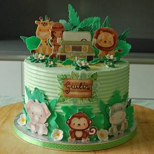 Jungle cake - Cake by Essence of sugar