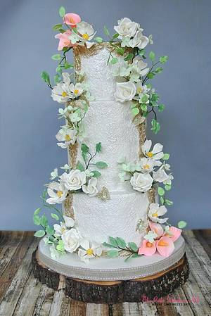Enchanted  Forest Fairytale - Cake by Sumaiya Omar - The Cake Duchess