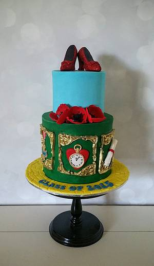 Wizard of Oz Cake - Cake by Sugarism by Anne