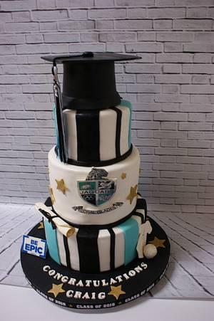 Graduation Cake - Cake by Margie