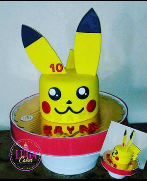 Pikachu cake - Cake by Luga Cakes