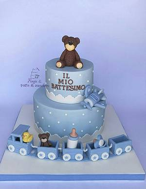 Baptism cake - Cake by Mariana Frascella