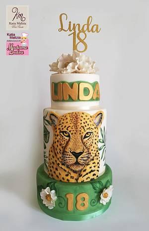 Jungle Cake - Cake by Katia Malizia