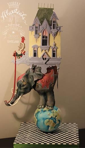 Elephant house SugarMythsandFantasies2.0 - Cake by Claire Ratcliffe