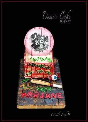 Suicide Squad Cake  - Cake by Cécile Fahs