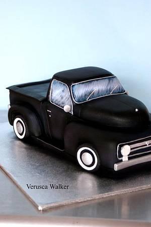 F100 3D car - Cake by Verusca Walker