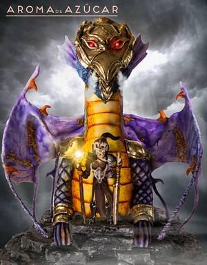 Diosa y Dragón Goddess and dragon Sugar Myths and Fantasies 2.0 - Cake by Aroma de Azúcar