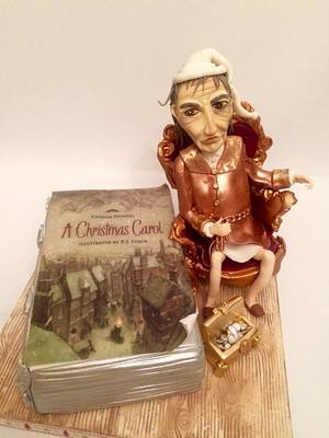 A Christmas Carol - Cake by Little LADY Cakes
