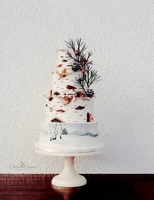 White Birch - Cake by Cake Heart