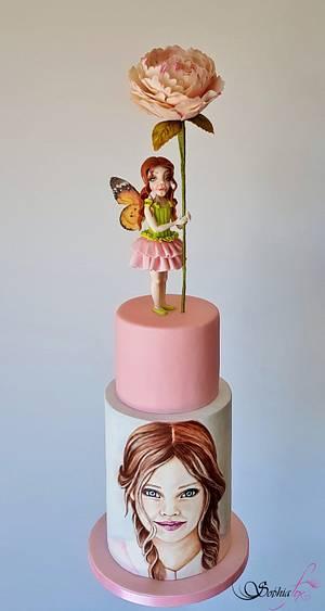 """""""Sweet Innocence"""" by Sophia Fox - Cake by Sophia  Fox"""
