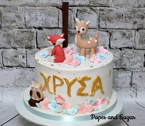 Woodland cake - Cake by Dina - Paper and Sugar