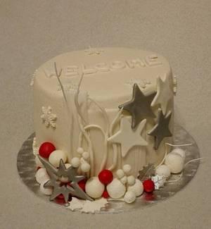 Small winter cake - Cake by Anka